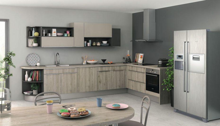 peinture gris metal pour cuisine id es de travaux. Black Bedroom Furniture Sets. Home Design Ideas
