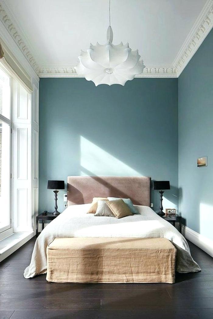 Chambre Peinture Bleu Pastel