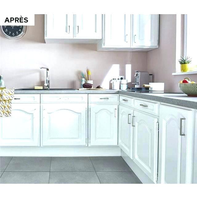 Peindre meuble cuisine blanc laqué - Idées de travaux