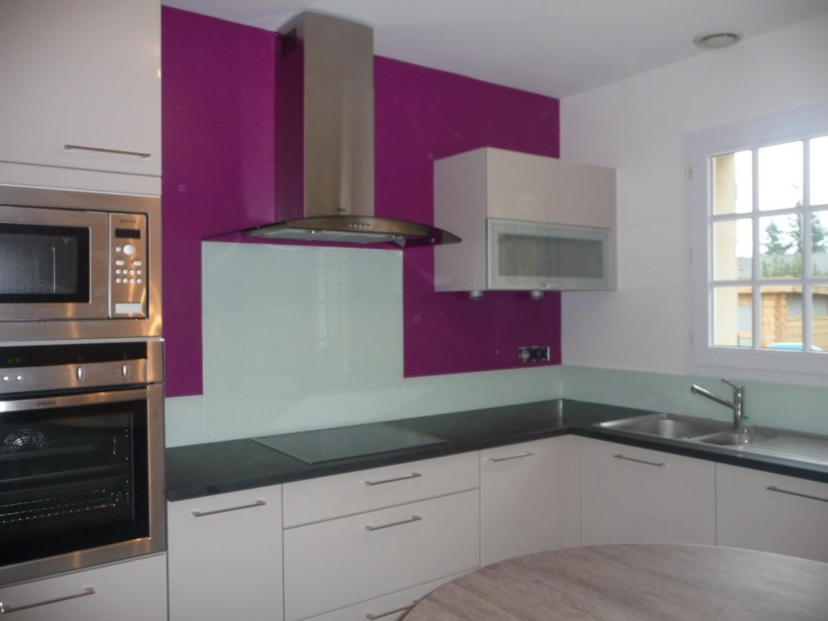 D coration peinture murale cuisine id es de travaux - Deco mur cuisine moderne ...