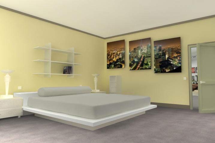 Peinture Et Decoration Chambre peinture décoration chambre - idées de travaux