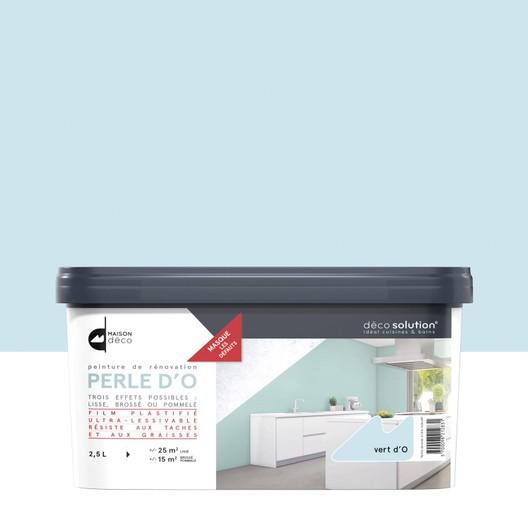 peinture carrelage cuisine vert d 39 eau id es de travaux. Black Bedroom Furniture Sets. Home Design Ideas