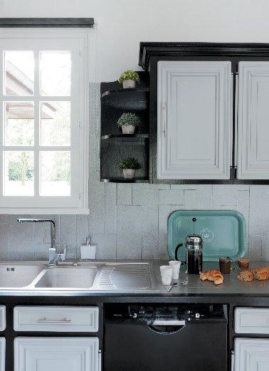 Peinture decolab meuble de cuisine v33 id es de travaux - Peinture v33 meuble cuisine ...