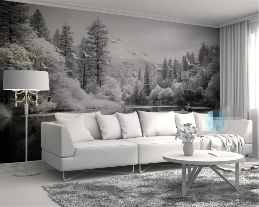 Peinture acrylique murale sur papier peint - Idées de travaux