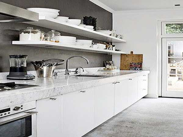 Peinture pour cuisine blanche laqu e id es de travaux - Peinture pour cuisine laquee ...