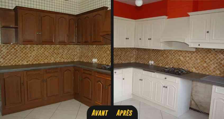 Peinture renovation cuisine v33 castorama id es de travaux - Peinture v33 renovation meuble cuisine ...