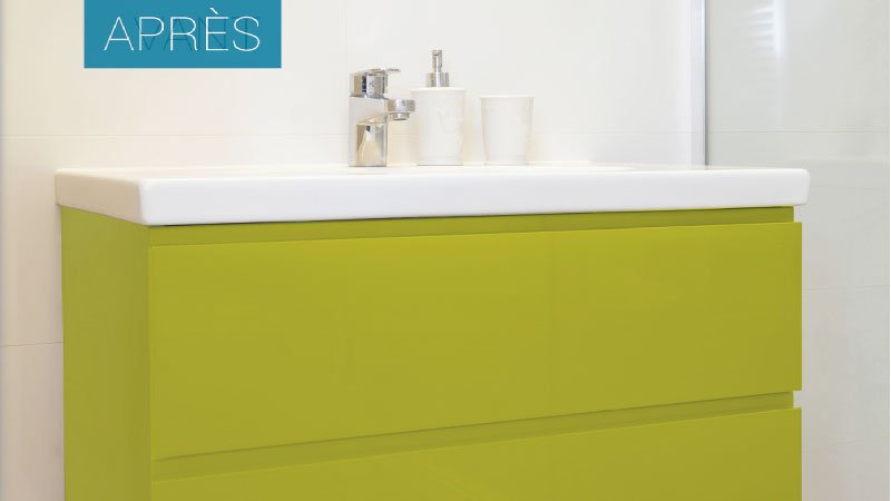 peinture pour carrelage salle de bain sans sous couche. Black Bedroom Furniture Sets. Home Design Ideas