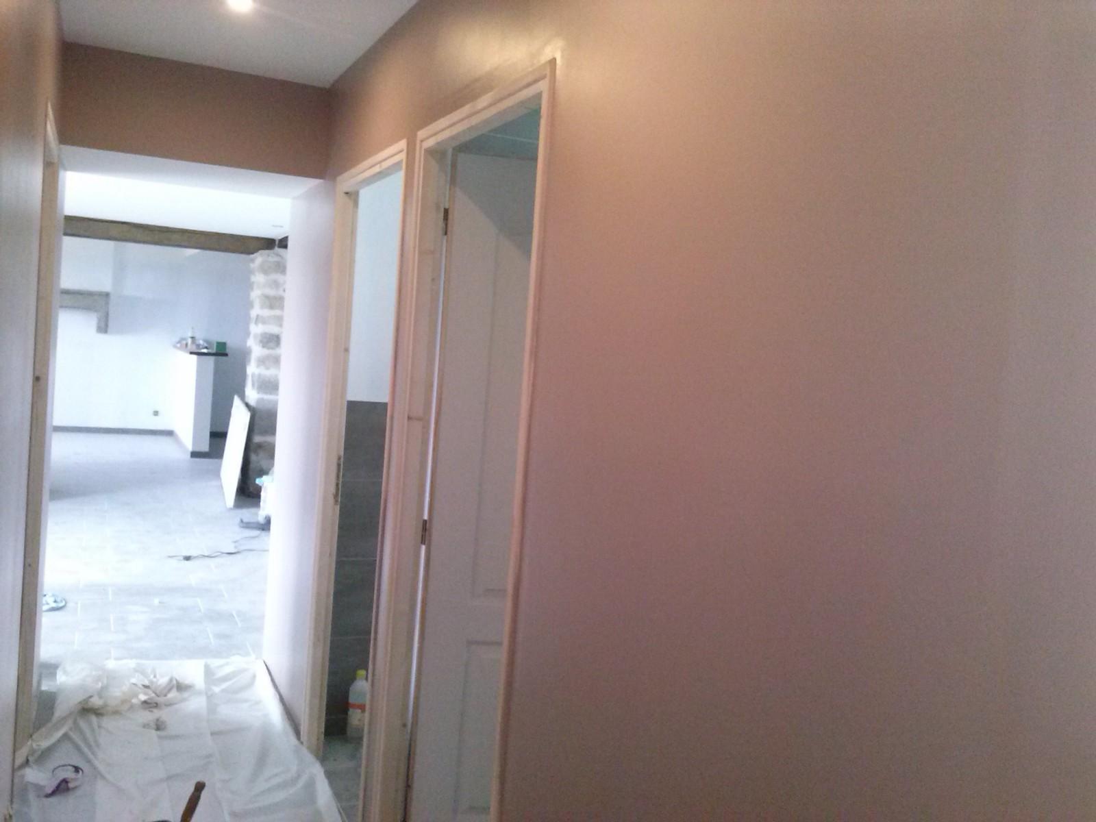 deco peinture dans un couloir id es de travaux. Black Bedroom Furniture Sets. Home Design Ideas
