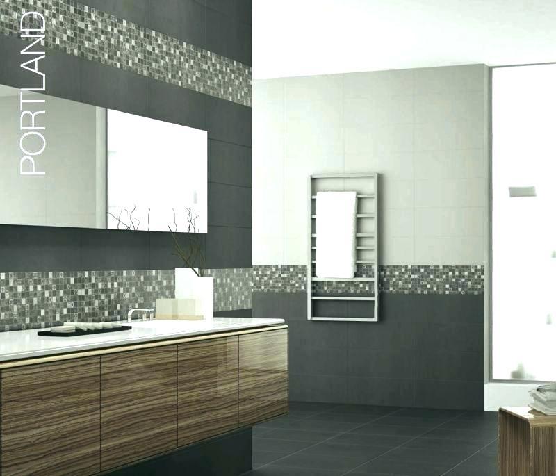 Peinture salle de bain avec carrelage gris - Idées de travaux