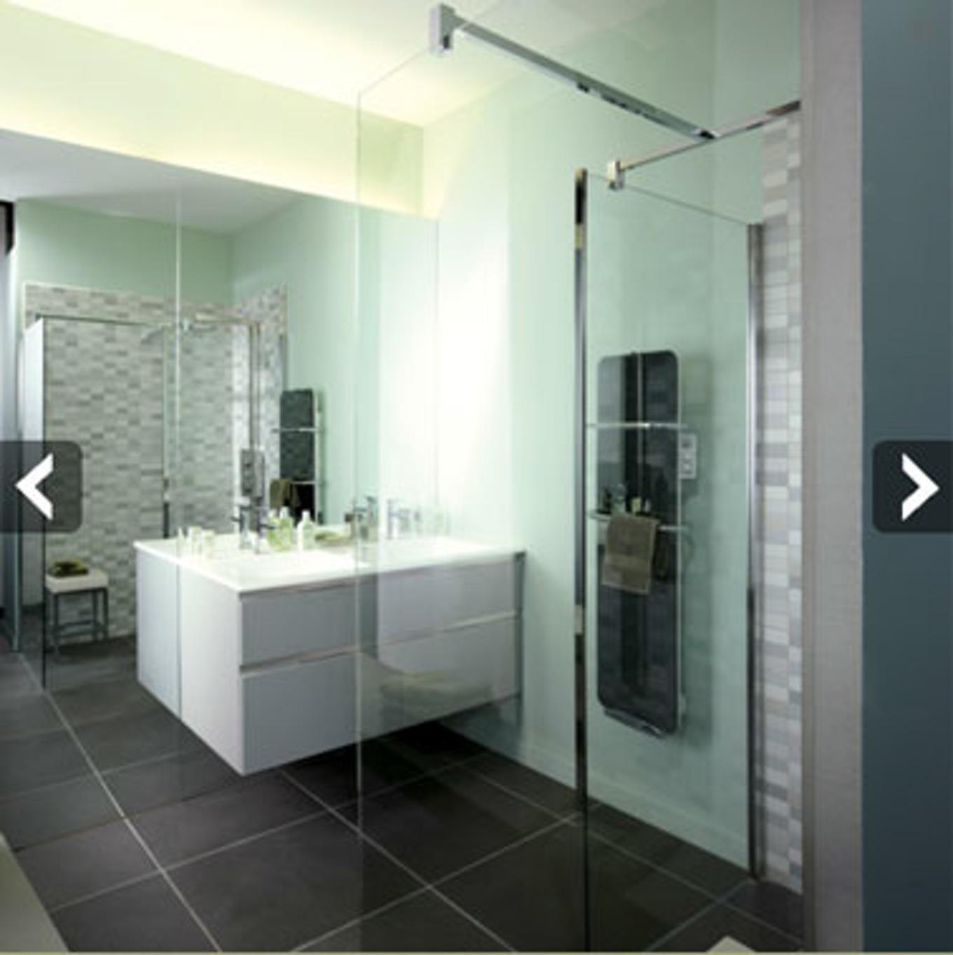 peinture carrelage noir salle de bain