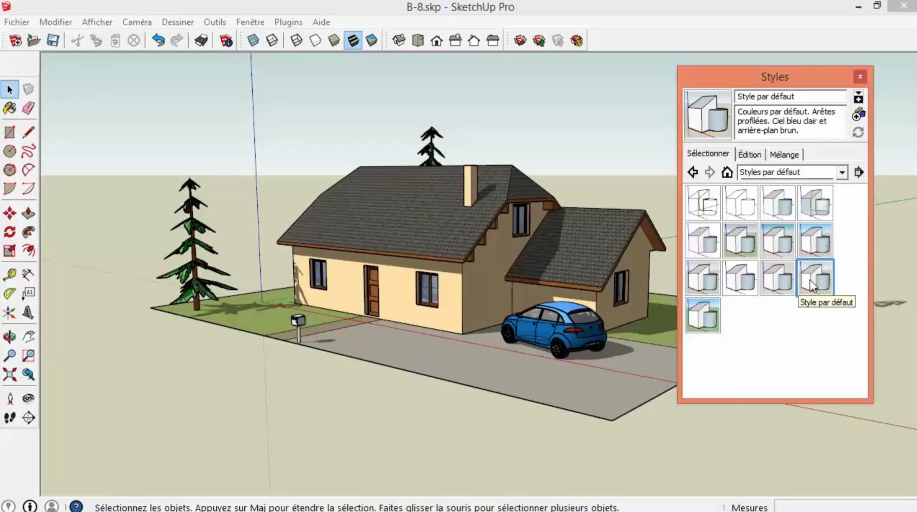 Faire son plan de maison sketchup - Idées de travaux