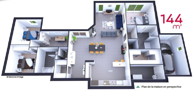 Plan de grande maison - Idées de travaux