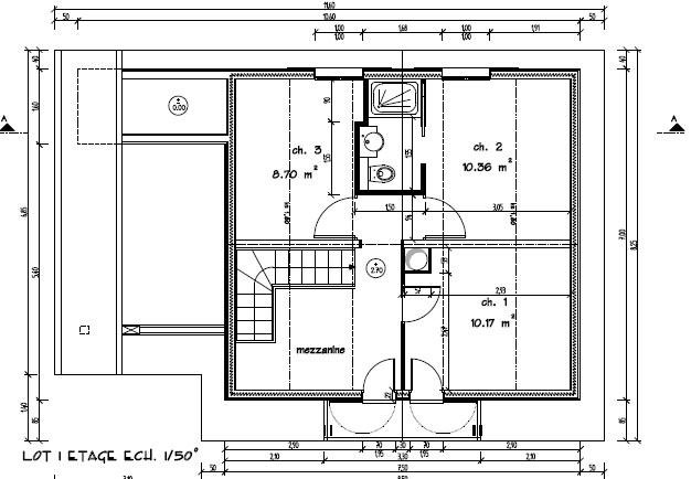 Plan Maison Type F4   Ventana Blog