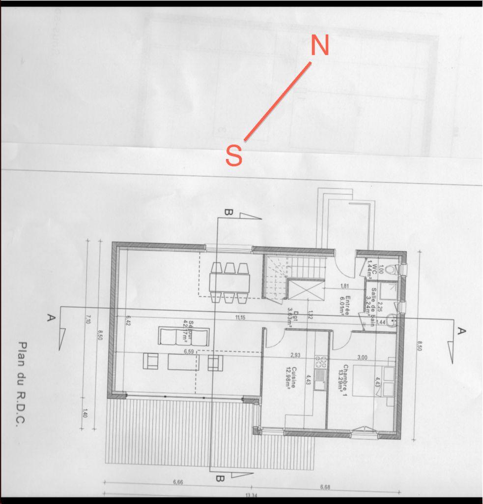 Plan de maison 180m2