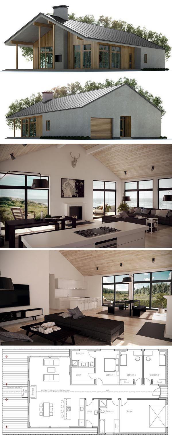 Plan de maison type loft - Idées de travaux