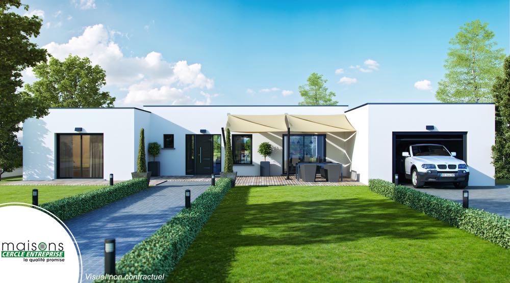 Plan de maison en h - Idées de travaux