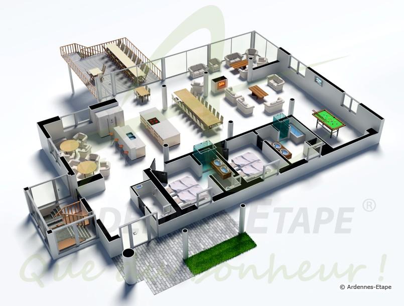 Plan De Petite Maison De Luxe Idees De Travaux