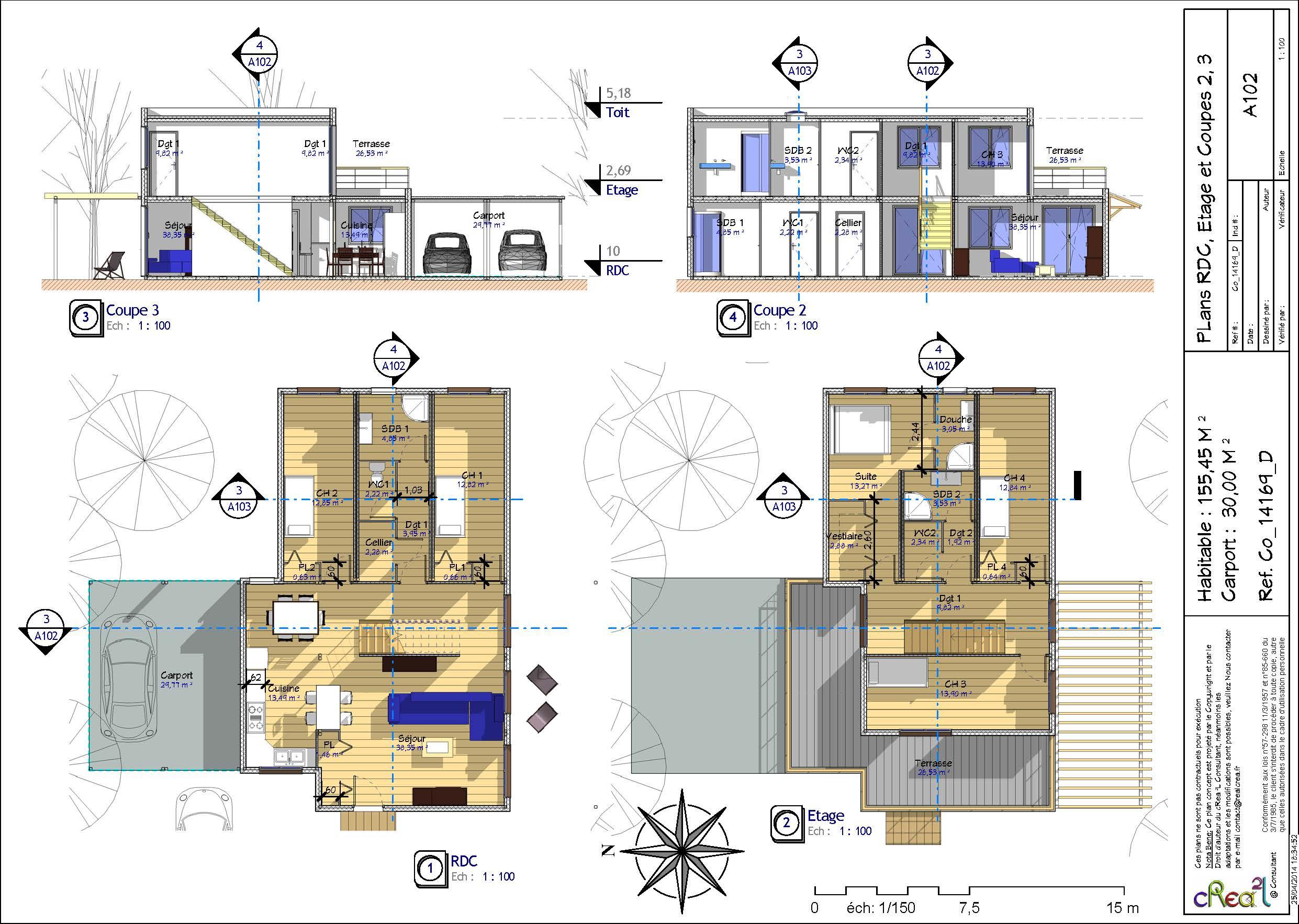 Plan de maison conteneur - Idées de travaux