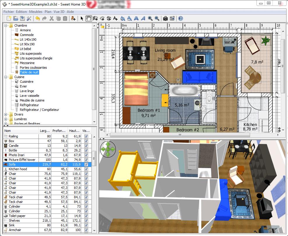 t l charger logiciel plan de maison 3d gratuit mac id es de travaux. Black Bedroom Furniture Sets. Home Design Ideas