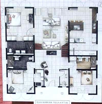 maison contemporaine de luxe plan id es de travaux. Black Bedroom Furniture Sets. Home Design Ideas