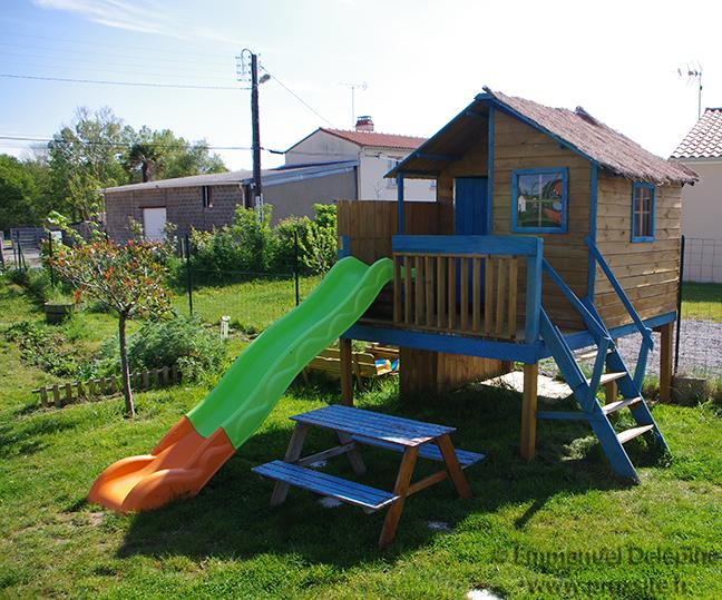 Plan de maison enfant sur piloti - Idées de travaux