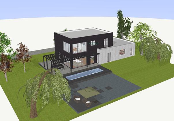 Logiciel gratuit plan exterieur de maison 3d - Idées de travaux