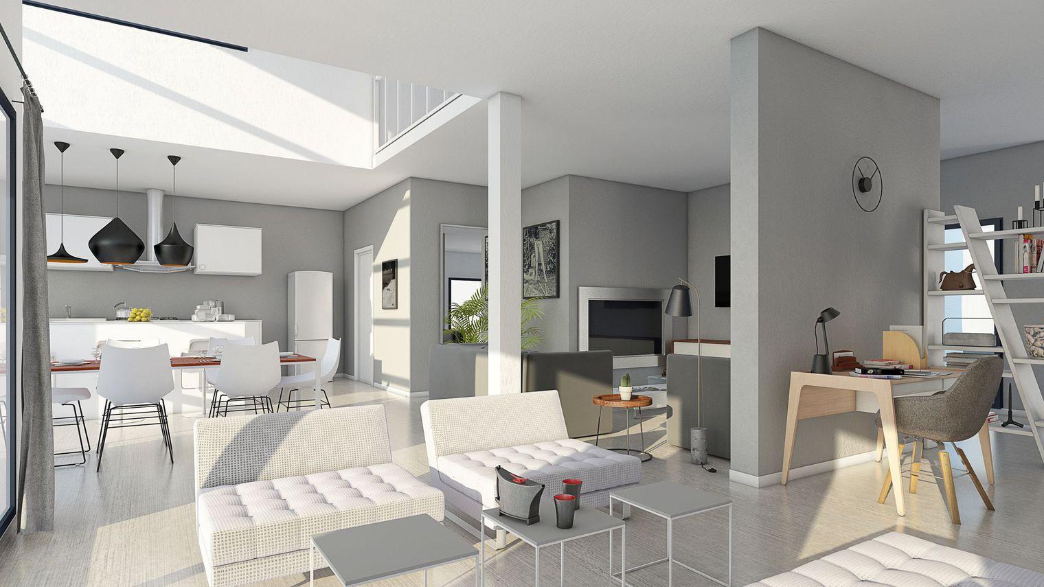 Idee Plan De Maison Interieur Idees De Travaux