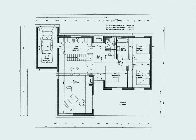 faire un plan de maison en ligne Réaliser plan de maison gratuit en ligne
