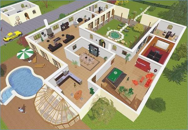 Faire des plan de maison 3d id es de travaux - Faire des plans de maison ...