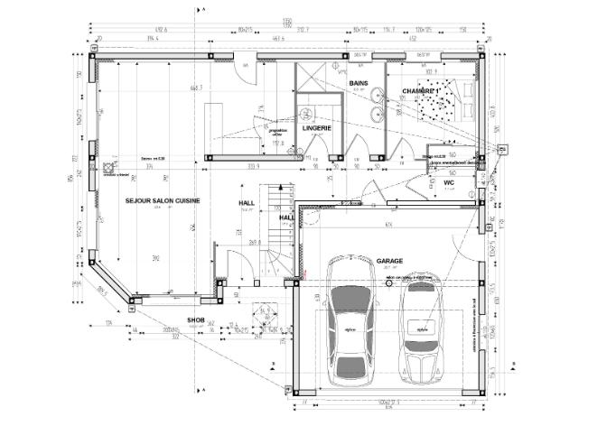 dessiner un plan de maison simple id es de travaux. Black Bedroom Furniture Sets. Home Design Ideas