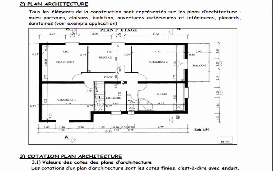 cotation d 39 un plan de maison id es de travaux. Black Bedroom Furniture Sets. Home Design Ideas