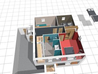 plan de maison 3d kozikaza - idées de travaux