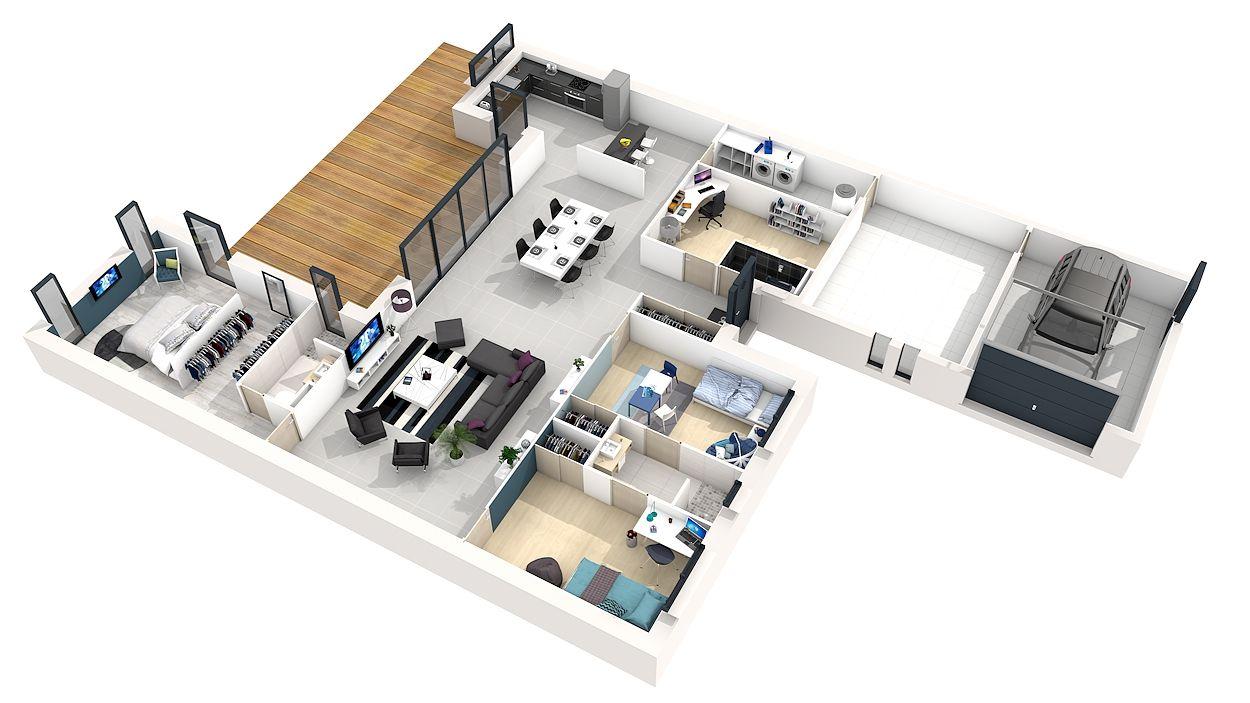 Plan pour construire une maquette de maison id es de travaux - Plan pour construire maison ...