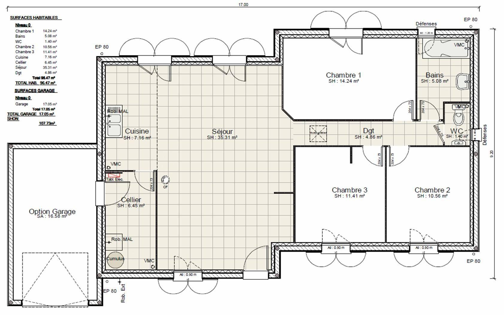 Faire le plan de maison en ligne id es de travaux - Faire plan maison en ligne ...