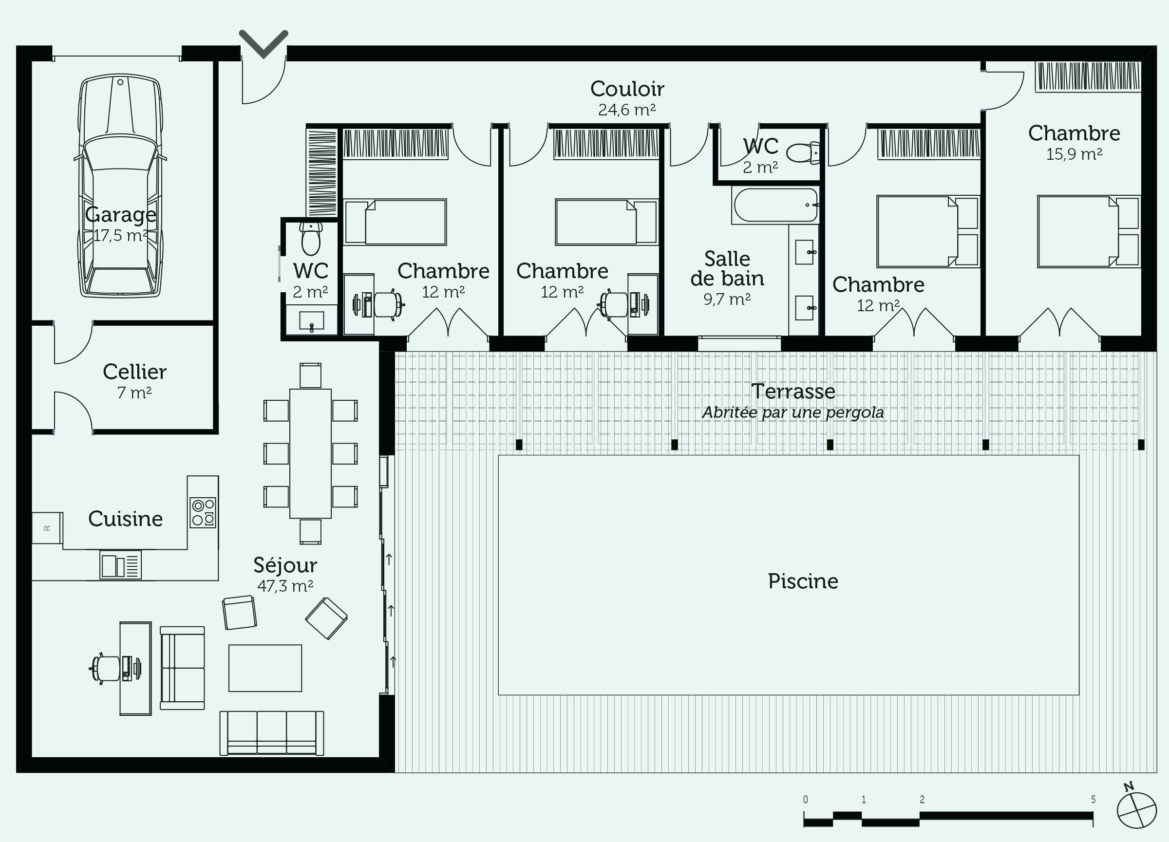 faire le plan de sa maison Créer le plan de sa maison en ligne