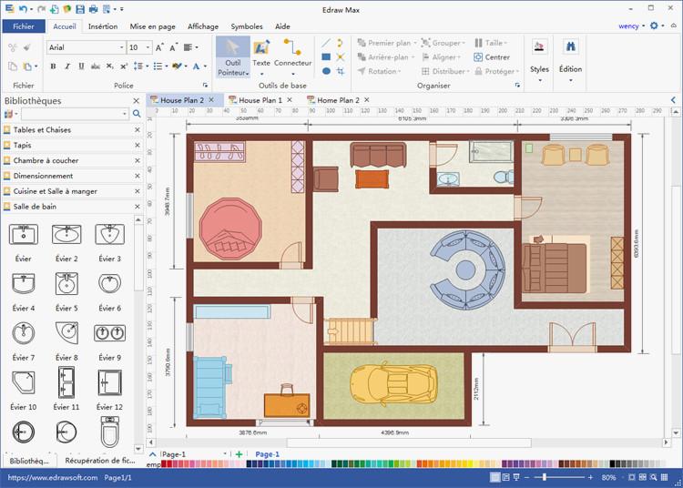 Logiciel pour faire son plan de maison id es de travaux - Faire son plan de maison ...
