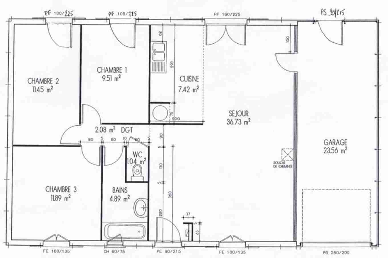 Plan de maison design interieur