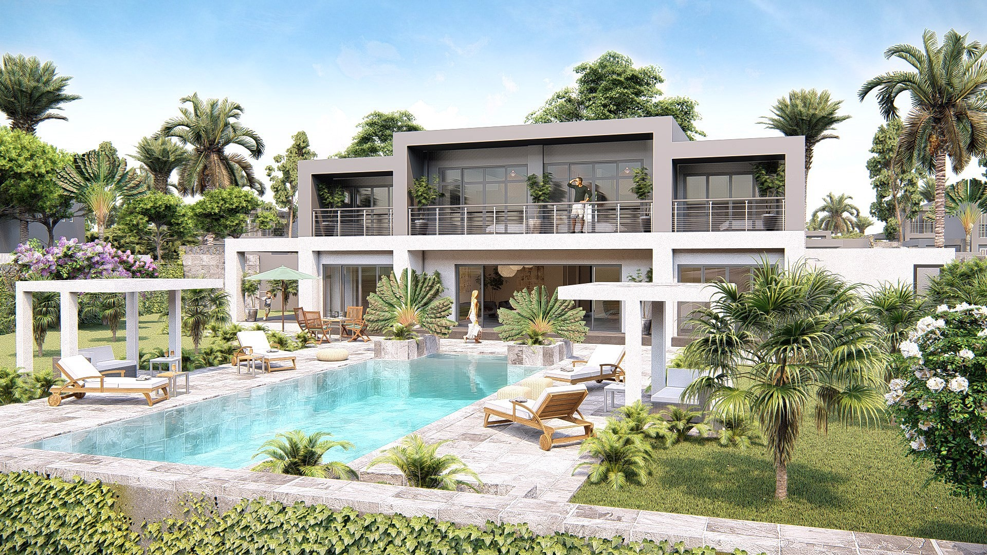 Grande maison de luxe plan - Idées de travaux