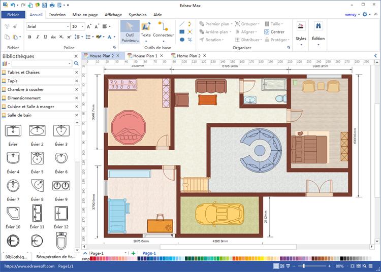 Dessiner en 2d plan de maison - Idées de travaux