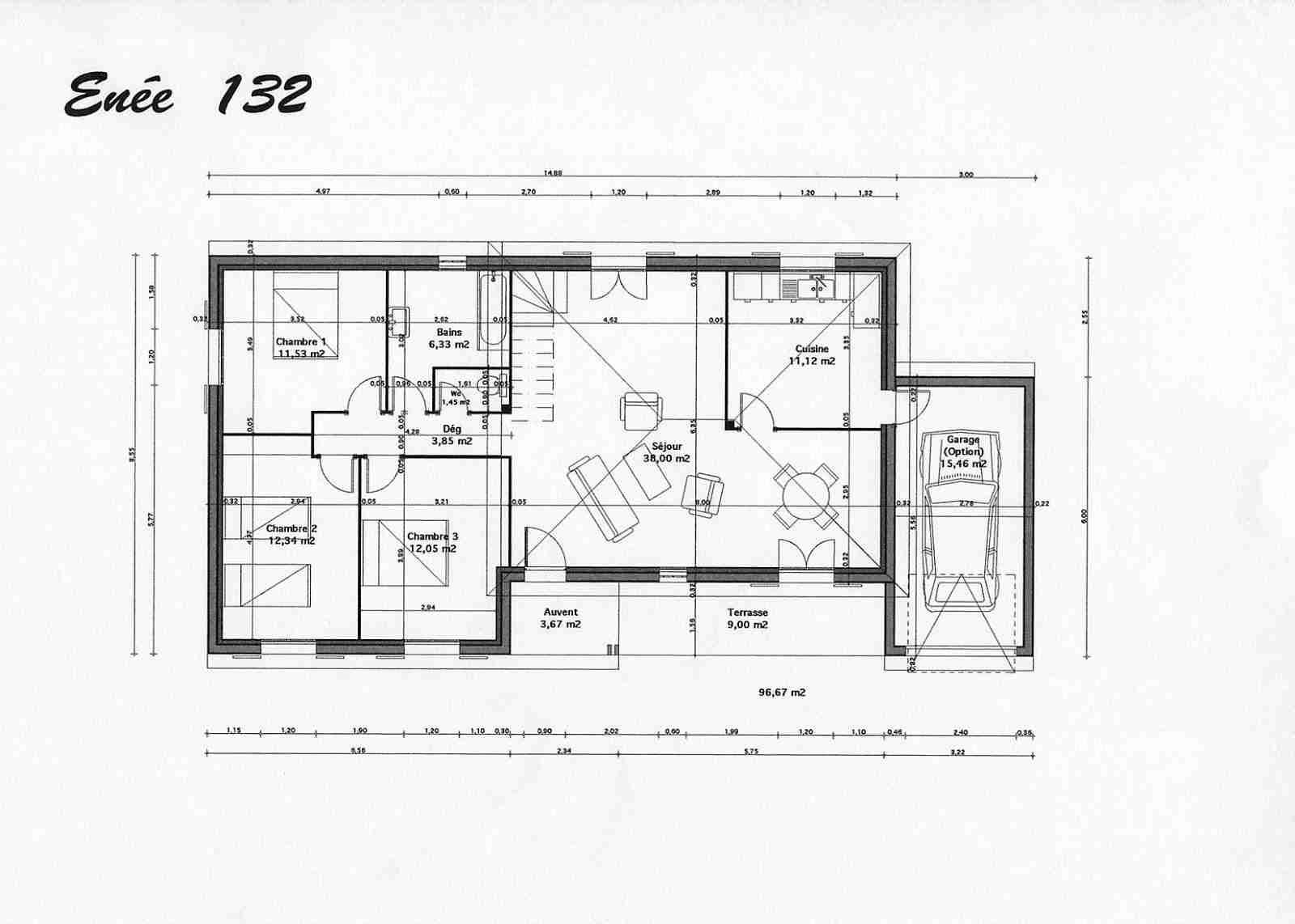 Plan de maison gratuit à télécharger - Idées de travaux