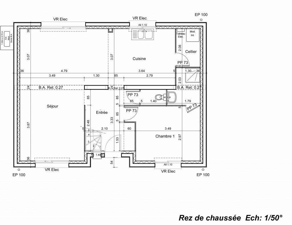 Plan de neuve maison - Idées de travaux