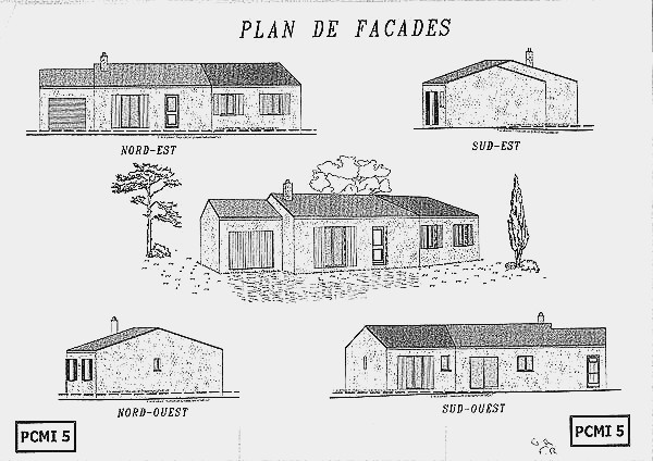 plan exterieur maison ventana