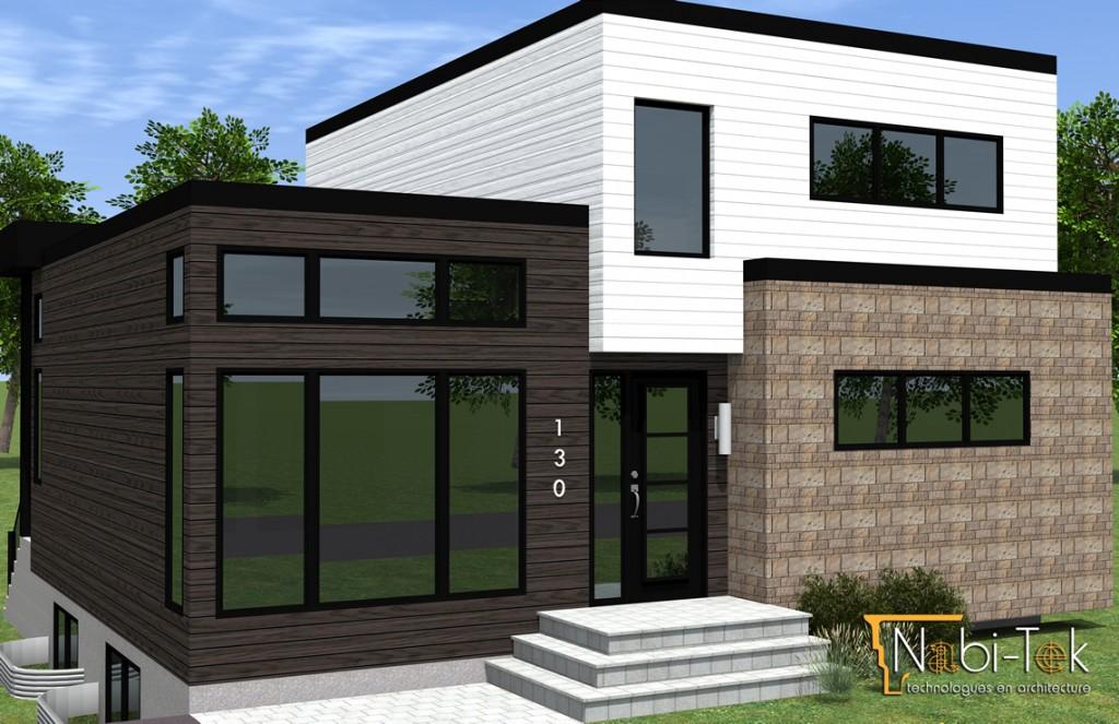 plan de maison ext rieur gratuit id es de travaux. Black Bedroom Furniture Sets. Home Design Ideas