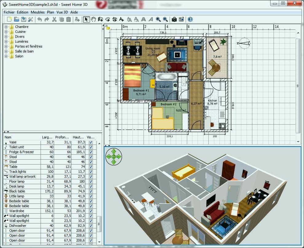 Logiciel de plan de maison gratuit en ligne