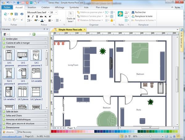 Logiciel gratuit pour dessiner son plan de maison id es - Logiciel pour dessiner plan de maison ...