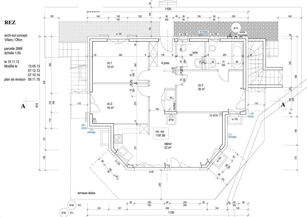 Logiciel plan maison pour permis de construire id es de travaux - Logiciel libre plan maison ...