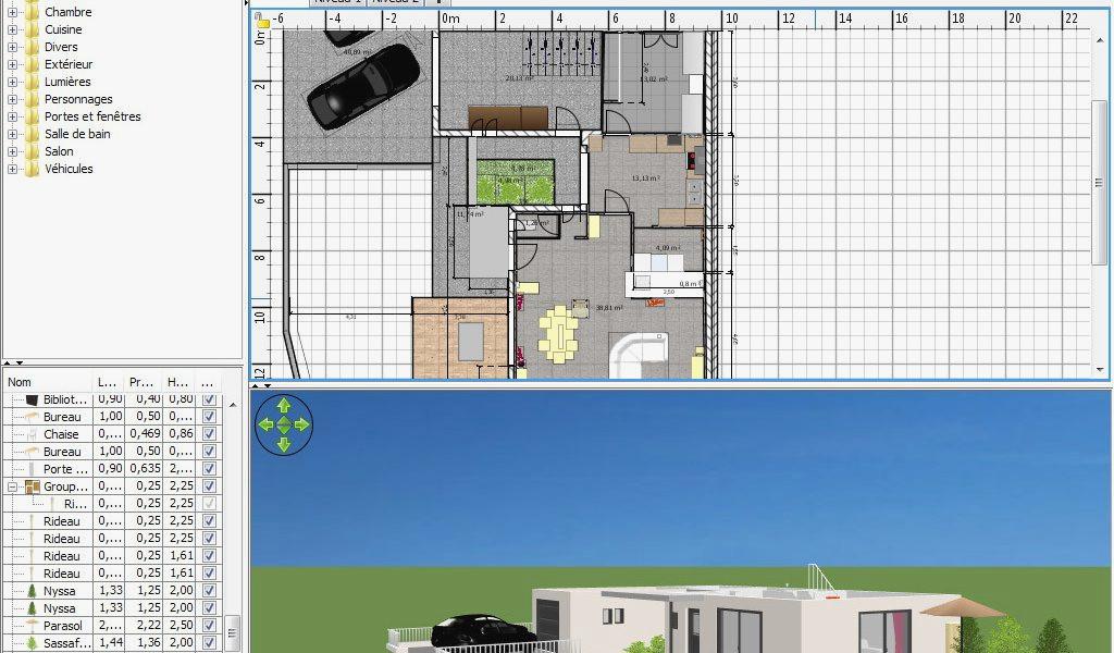 logiciel gratuit pour plan de maison exterieur id es de. Black Bedroom Furniture Sets. Home Design Ideas
