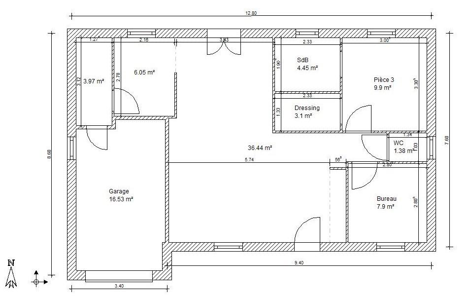 Faire un plan de maison facile id es de travaux - Faire des plans de maison ...