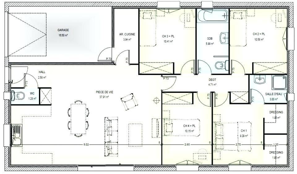 Plan De Maison Gratuit Avec Studio Idees De Travaux