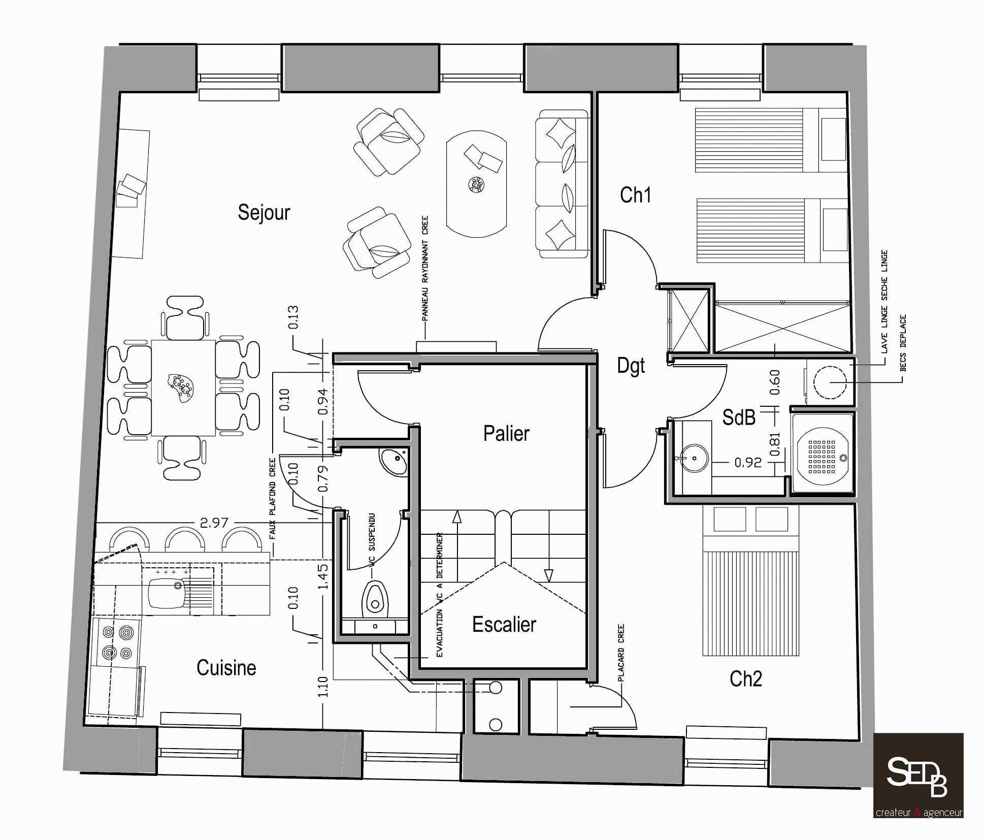 Logiciel pour faire plan de maison id es de travaux - Faire des plans de maison ...